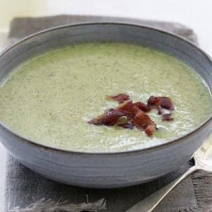MK Broccoli & Bacon Soup 1 Ltr Mitcham Kitchen (Frozen)