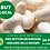 Thumbnail: LOCAL BUY SPECIAL Mushroom White Medium Button  (500G Bag)