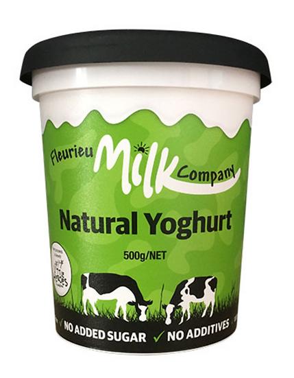 Fleurieu Milk Co's NATURAL 500 g Yoghurt Fleurieu Milk Co