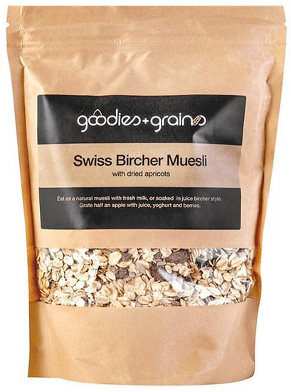 Swiss Bircher Muesli 400 G Goodies & Grains