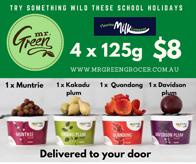 MULTI BUY FLEURIEU MILK COMPANY SOMETHING WILD 125 G YOGURT 4 FOR $8