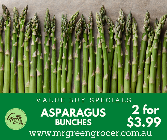 VALUE BUY Asparagus (2 Bunches)