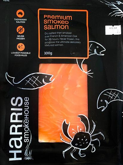 Harris smokehouse premium 100 g smoked salmon