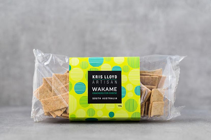 WOODSIDE Wakame lavoche crackers Kris Lloyd Artisan
