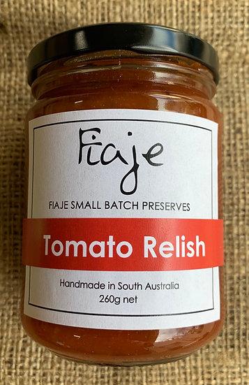 Fiaje Tomato Relish 260g