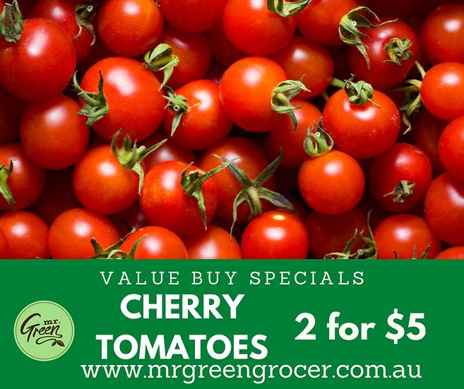 VALUE BUY CHERRY TOMATOES 2 for $5