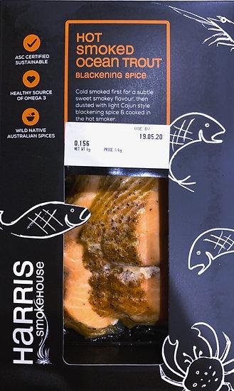 Harris Smokehouse Hot Ocean trout 150g Portion