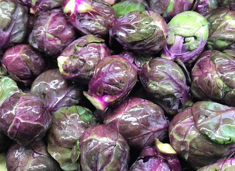 Brussel Sprouts Purple (Pre Pack)