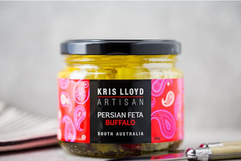 WOODSIDE Creamy Buffalo Persian Feta 300 g Kris Lloyd Artisan