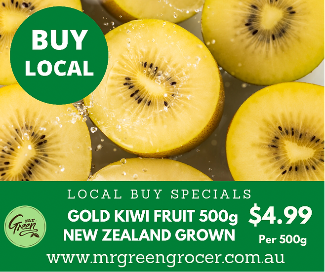 LOCAL BUY SPECIAL Gold Kiwi Fruit 500g