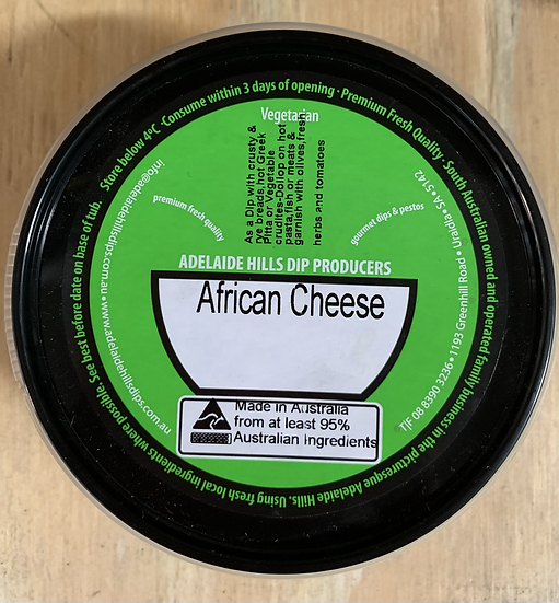BC African Cheese