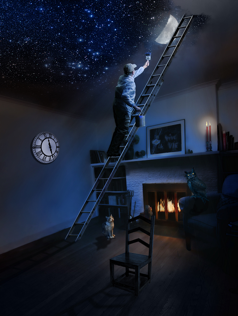 Painting The Room With Moonlight