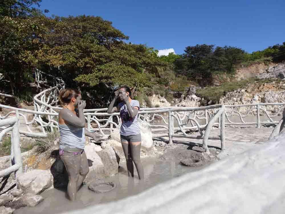 miravalles volcano mud baths