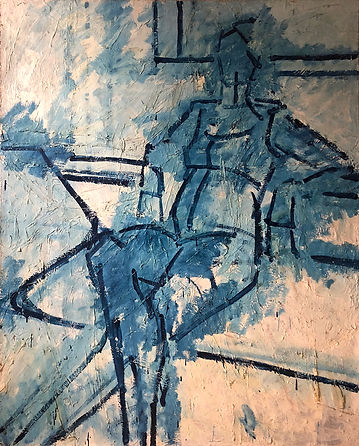 Study-for-Sue,-Oil-on-Canvas,-1979,-152-
