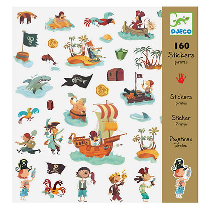 STICKERS PIRATAS