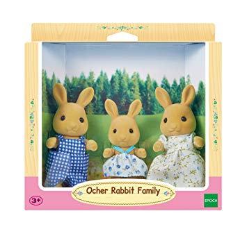 OCHER RABBIT FAMILY