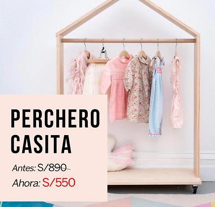 PERCHERO CASITA
