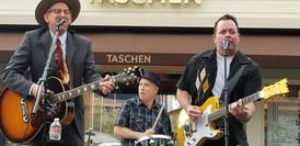 Joey, D.J. Bonebrake, and Mike