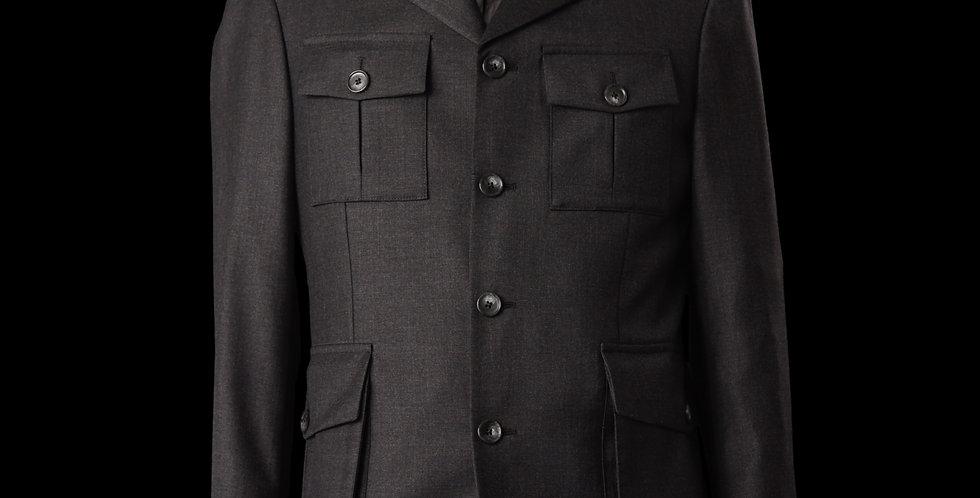 Grey Patch Pocket Blazer