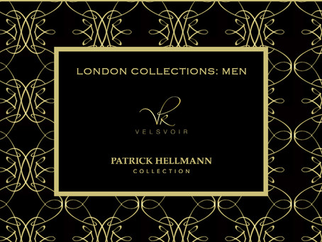 Velsvoir x Patrick Hellmann for London Collections: Men