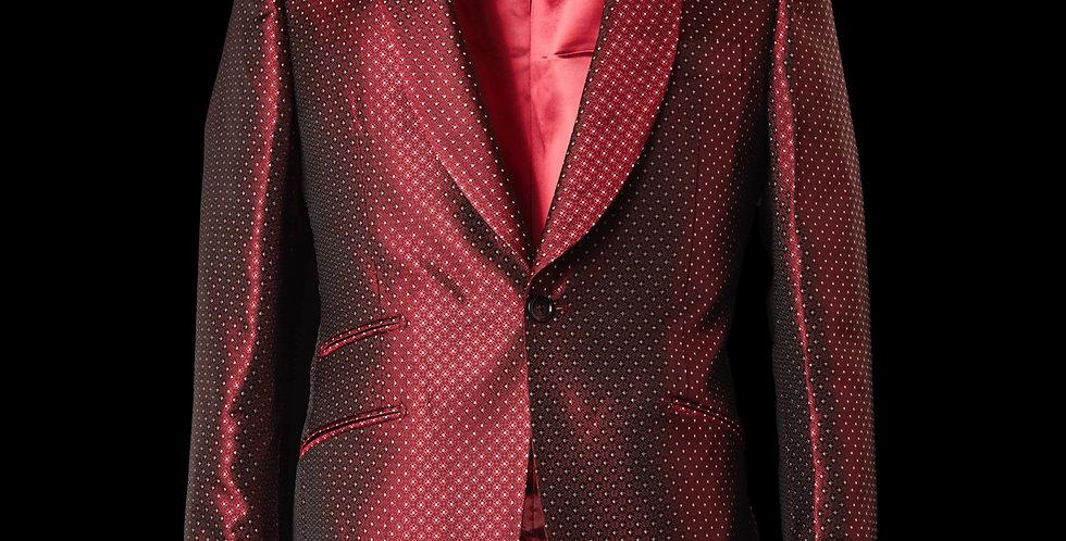 Ruby Tuxedo Blazer