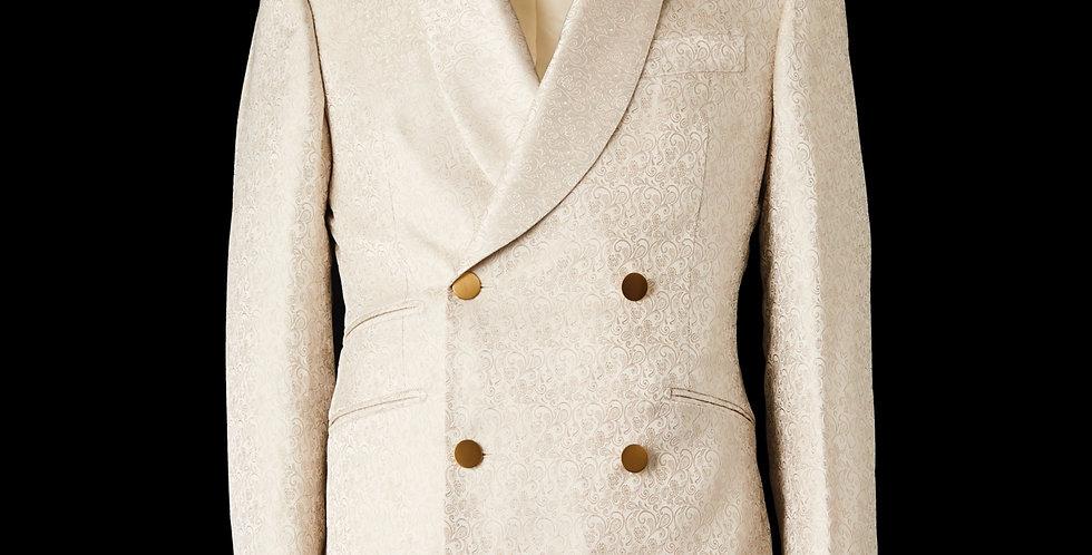 Ivory Tuxedo Blazer