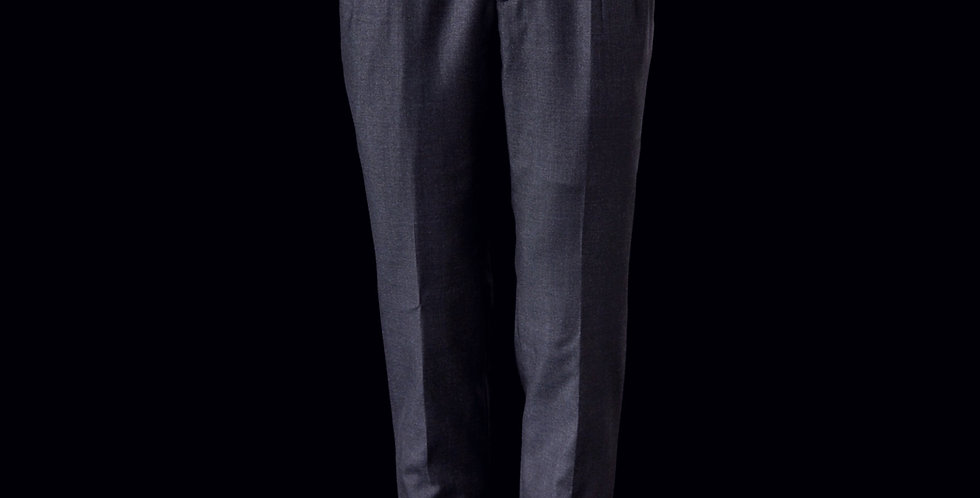 Blue Pleated Trouser