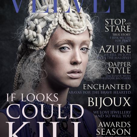 Velvet Magazine (UAE) Feature