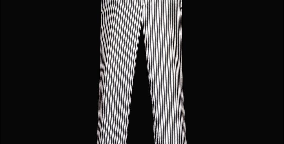 Seersucker Slim Fit Trouser