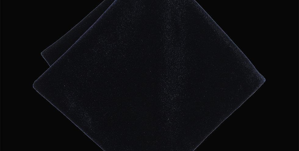 Navy Velvet Pocket Square