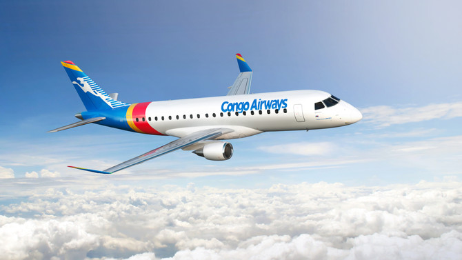 Congo Airways assina pedido firme para dois jatos E175
