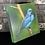 Thumbnail: Saí-azul (tela canvas)