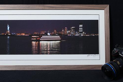 """Quadro """"Barcos"""", Nova York, EUA."""