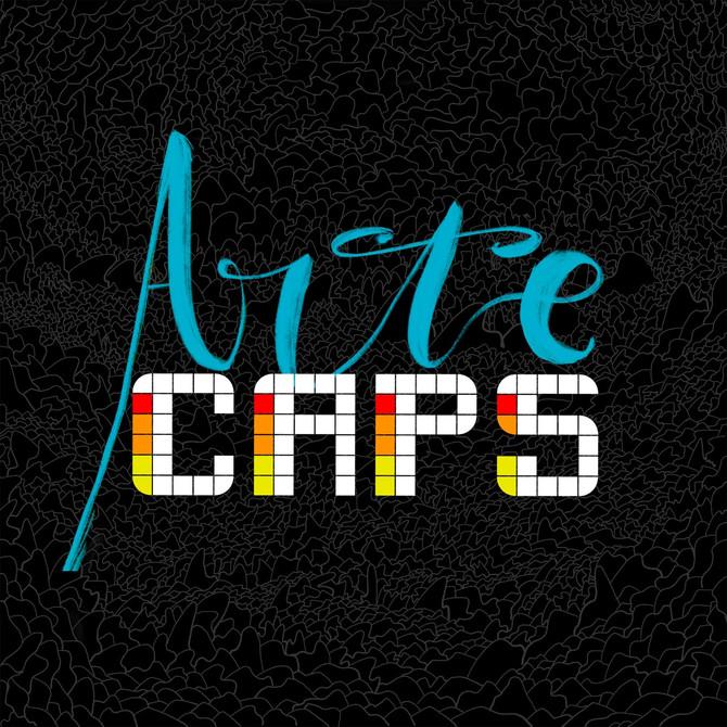 Arte CAPS, VESTINDO CRIATIVOS - Nova marca de camisetas do Estúdio CAPS