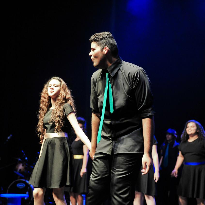 Solistas: Irwin e Yasmin