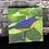 Thumbnail: Gaturamo - tela canvas