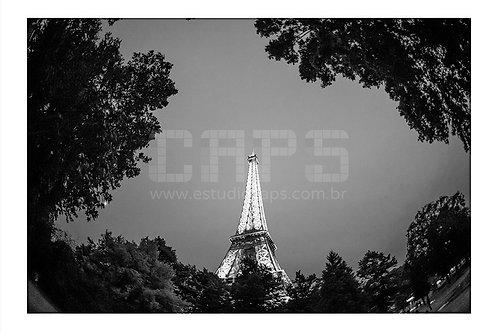 Torre Eiffel Black