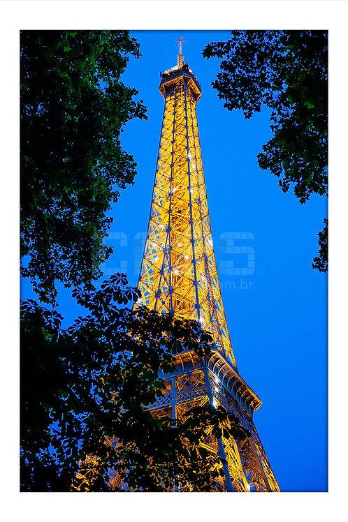 Torre Eiffel Blue