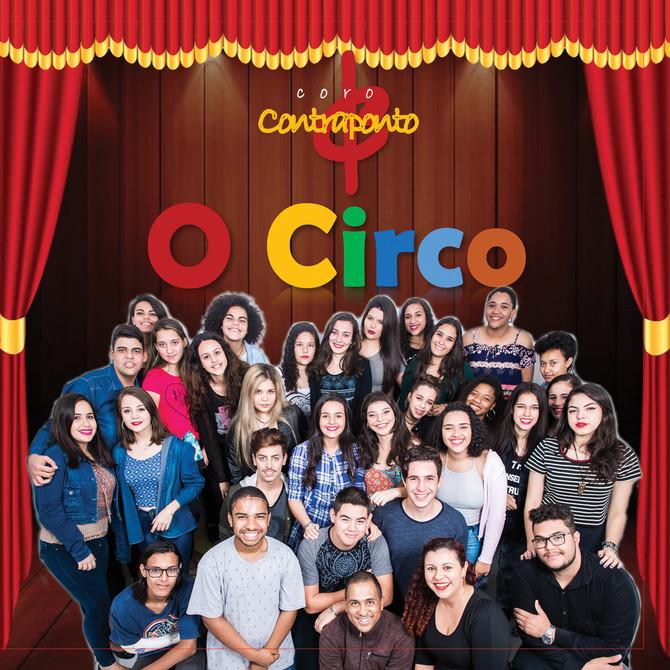 """Coro Contraponto lança CD """"O CIRCO"""""""