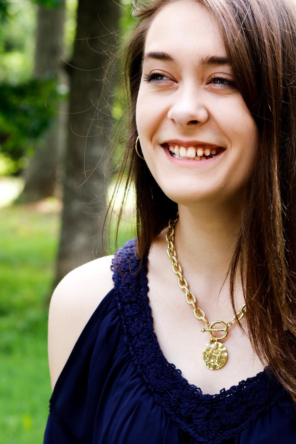 Mongram necklace