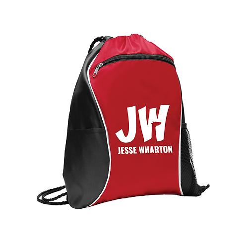 JW Drawstring Bag w/ Pockets