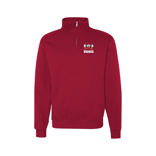 Embroidered Vikings 1/4 Zip