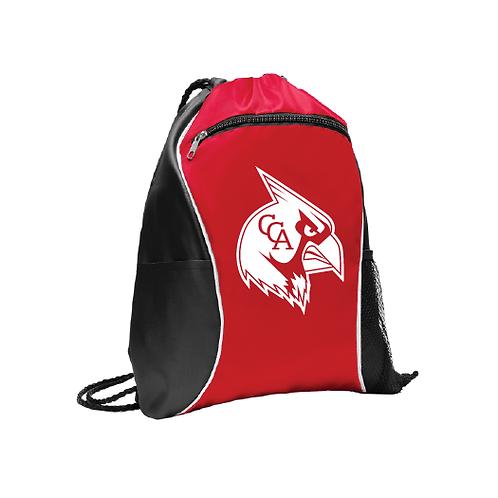 Cardinals Drawstring Bag w/ Pockets