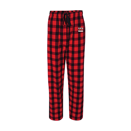 Vikings Flannel Pants w/ Pockets