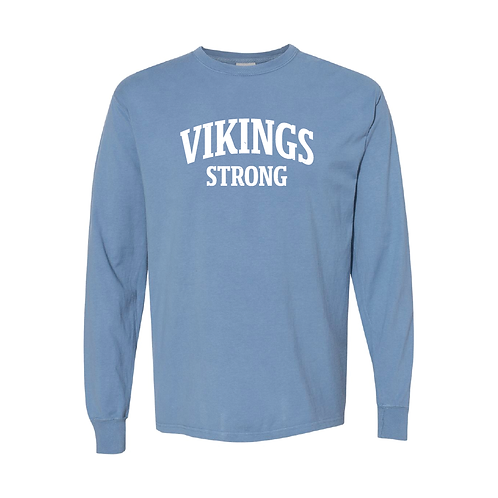 Vikings Comfort Wash Long Sleeve Tee
