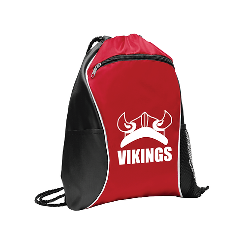 Vikings Drawstring Bag w/ Pockets