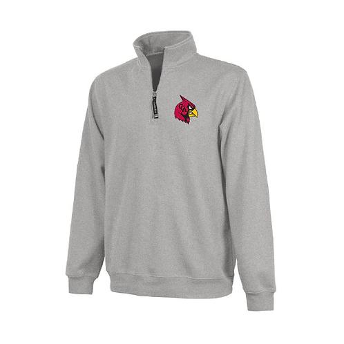 CCA Cardinal 1/4 Zip With Pockets