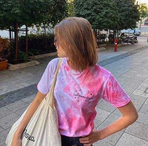 hallgassmagyart póló rózsaszín