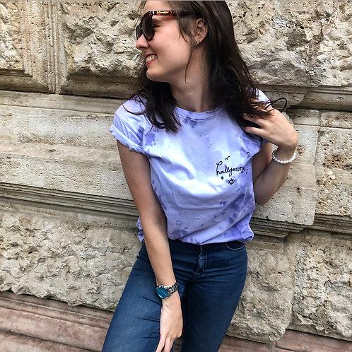hallgassmagyart póló lila