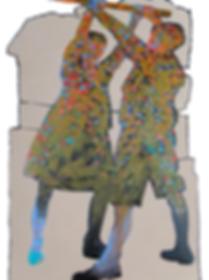 Jean-Claude Langer, 2010 024 acrylic on paper